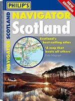 Philip's Navigator Scotland: (A4 Spiral binding) by Philip's Maps, NEW Book, FRE