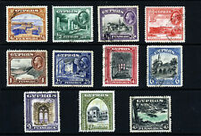 CYPRUS King George V 1934 Complete Pictorial Set SG 133 to SG 143 VFU