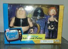 Family Guy ---- RARE Nighttime Lois & Peter --NiB, 2005 --- Series 1 Black