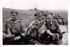 Vormarsch LKW Krupp - Protze bei Sedan Frankreich