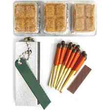 Lifeline Emergency Survival Fire Starter Kit w/ Magnesium Flint and Solid Fuel