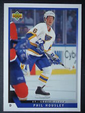 NHL 525 Phil Housley St. Louis Blues Upper Deck 1993/94
