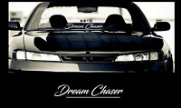 "Dream Chaser Windshield Decal Sticker 23"" jdm euro"