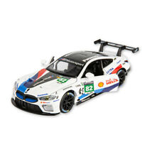 BMW M8 GTE Le Mans Racing Car #82 1:32 Scale Model Car Diecast Gift Toy Vehicle