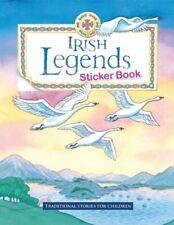 Irish Legends Sticker Book by Carroll, Yvonne Paperback Book The Cheap Fast Free