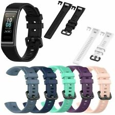 Sport Silikon Ersatz Armband Uhrenarmband Strap für Huawei Band 3/3 Pro Urh Neu