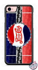 Pepsi Cola Bottle Cap Logo Design Phone Case fits iPhone Samsung Google etc.