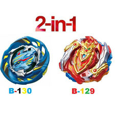 B-129 and B-130 2Pcs Bayblade Top Beyblade Metal Fusion Toy Burst For Children