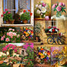 Classic Flower DIY Paint By Number Kit Digital Oil Painting Art Home Wall Decor