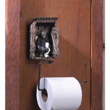 Bear Collectors Gift Bathroom Toilet Paper Holder Wall Mount Cabin Decor Farm