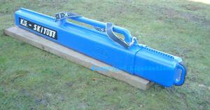 KIS Ski Tube Sportube S1, Fishing Rod  Ski Carrier, Ski Case [Ski Bag]  Blue