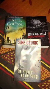 romans suspense lot de trois