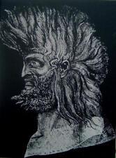 Ernst Fuchs  Der Junge Moses original Lithograhie