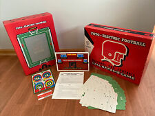 New listing Complete Vintage 1965 Cadaco Foto Electric Football Board Game NFL Hall Of Game
