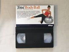 Bollinger Total Body Ball Fitness Video Ball Workout VHS