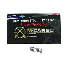 Remington Shotguns 870 / 11-87 / 1100 Trigger Spring Kit | M*CARBO Performance!