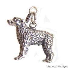Sterling Silver 3D Anatolian Shepherd Dog Charm Pendant