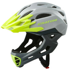 CRATONI C-Maniac Fahrradhelm - Grey-Lime Matt, Gr. M