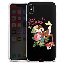 Apple iPhone Xs Max Silikon Hülle Case - Bambi Retro