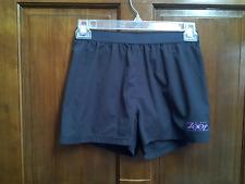 Zoot Women's Athletic Running Board Shorts Gray Pink w/ Brief Size Medium M
