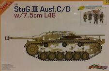 Cyber-hobby 1/35 scale kit 9119, German StuG.III Ausf. C/D w/7.5cm L48.