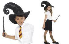 Childs Wizard Kit Tall Hat Wand School Tie Book Week Kids Fancy Dress Costume Ac