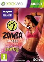 ZUMBA FITNESS JOIN THE PARTY KINECT XBOX 360 EXCELLENT CONDITION 1st Class Del