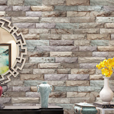 Bright Brick Self Adhesive Wallpaper Peel and Stick Contact Paper Decor Vinyl 3D