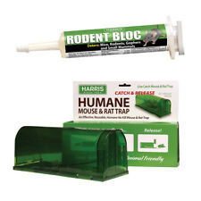 1 oz. Rodent Bloc Rodent/ Small Mammal Repellent and Catch & Release Trap