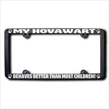 Hovawart Behaves Better Frame w/Reflective Text