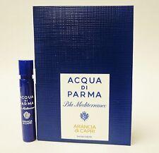 Acqua Di Parma Blu Mediterraneo ARANCIA di CAPRI 1.2ml .04oz Cologne Spray x1