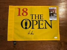 GARY PLAYER SIGNED UNDATED BRITISH OPEN GOLF FLAG AUTOGRAPH JSA COA 100% REAL