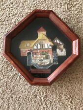 David Winter- Pershore Mill Plaque Shadow box