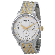 Tissot Tradition Perpetual White Dial Two-tone Mens Watch T0636372203700-AU