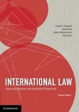 International Law: Cases and Materials with Australian Perspectives by Donald R. Rothwell, Ruth Davis, Stuart Kaye, Afshin Akhtarkhavari (Paperback, 2014)