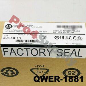 2019 US STOCK Allen-Bradley Compact 5000 DC Input Module 5069-IB16