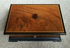 Fabrique Sussie Vintage Swiss Music Box~4 songs~ WORKS Tell