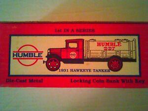 Humble 1931 Hawkeye Tanker Coin Bank #1 series