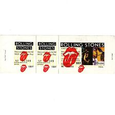 THE ROLLING STONES Concert Ticket Stub NICE FRANCE 7/21/82 TATTOO YOU TOUR Rare