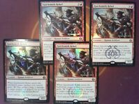 4x Foil Quicksmith Rebel Prerelease - Aether Revolt Magic the Gathering - MTG