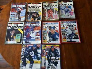 The Hockey News Yearbook 1988-1997,2002,2004,2006 + 2010