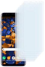 mumbi 6x Folie für Samsung Galaxy S9+ Plus Schutzfolie klar Displayschutz Handy