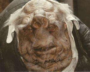 Ian McNeice Doctor Who hand signed photo with COA UACC & AFTAL reg Dealer
