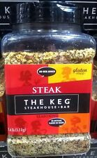 NEW–The KEG Steakhouse&Bar Steak Seasoning 2.4lb,No Artificial Flavors,No MSG,GF