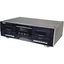 Pyle PT659DU Dual Stereo Cassette Deck W/ Tape USB to MP3 Converter