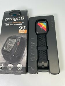 Catalyst Protective Case for Apple Watch 6 5 4 SE 40mm Stealth Black