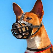 Rubber Dog Muzzles for Barking Small Medium Large Pitbulls Boxer Black Size1-6