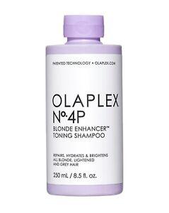 Olaplex No.4 Blonde Enhancer Toning Shampoo 250ml (New Product)
