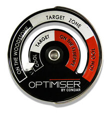 Optimiser Woodstove Dual ZoneThermometer by Condar (3-45)