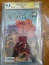 New Mutants War Children 11/19 CGC SS 9.8 Bob Mcleod Signed